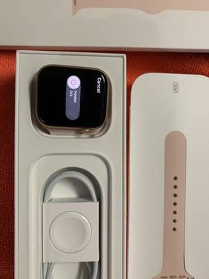 Apple Watch Series 5 44MM pink band for Sale in Los Angeles, CA