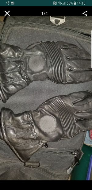 HARLEY DAVIDSON GORETEX MOTORCYCLE LEATHER GLOVES LIKE NEW for Sale in Bronx, NY