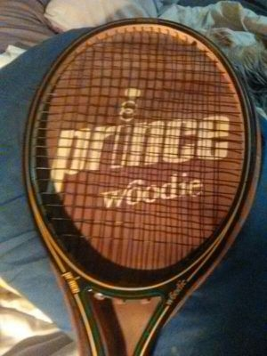Vintage Prince Woodie Tennis Racket for Sale in Las Vegas, NV