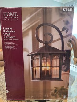 Large Exterior Wall  Lantern  for Sale in Oak Lawn, IL