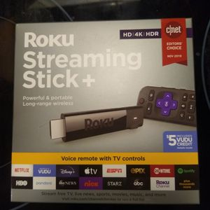 Brand New Roku USB Stick With Voice Control for Sale in Midlothian, VA