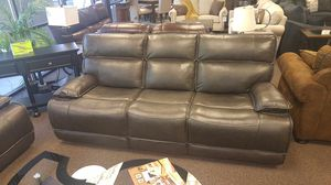 LEATHER PWR RECLINING SOFA AND LOVESEAT SET BRAND NEW for Sale in Portland, OR