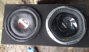 """2 12"""" subwoofer for Sale in Modesto, CA"""