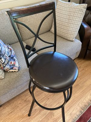 Swivel bar stools. for Sale in Seattle, WA