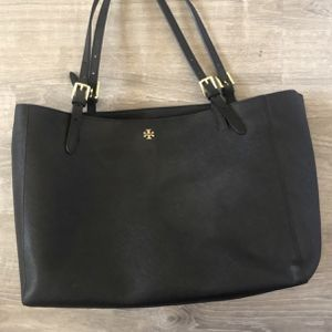 Tory Burch Genuine Saffiano Leather Tote for Sale in Hudson, MA