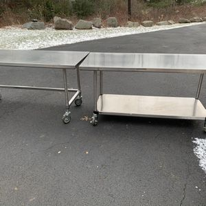 Stainless Steel Tables By Metro for Sale in Sharon, MA