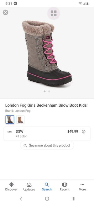 Girls size 11 London Fog winter boots for Sale in Westland, MI