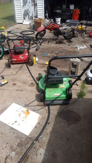 L lawn mowers weed eaters leaf blowers mini styles and brands for sale for Sale in Wichita, KS