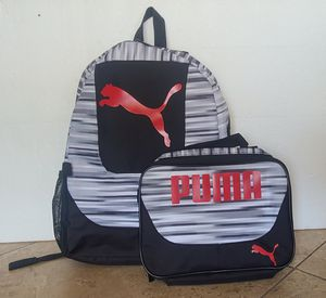 PUMA Backpack and Lunch Bag for Sale in Las Vegas, NV