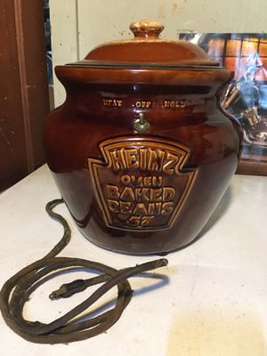 Vintage Heinz Baked Beans Crock Pot for Sale in Dryden, NY