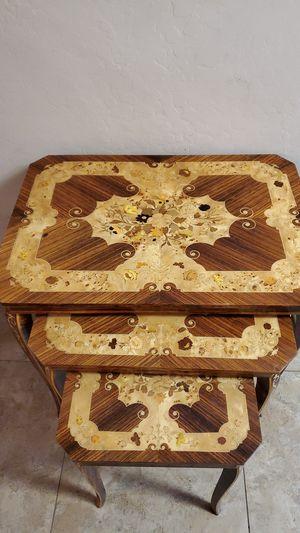 Vintage stackable tables. for Sale in Glendale, AZ