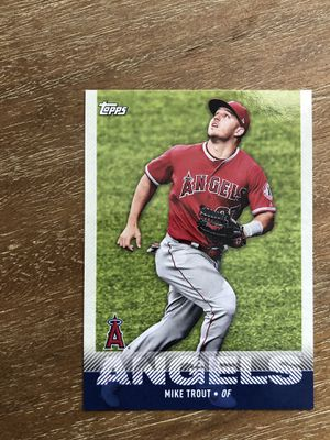 2020 Topps UTZ Potato Chips Regional Promo #59 Mike Trout Angels Baseball Card for Sale in Atlanta, GA