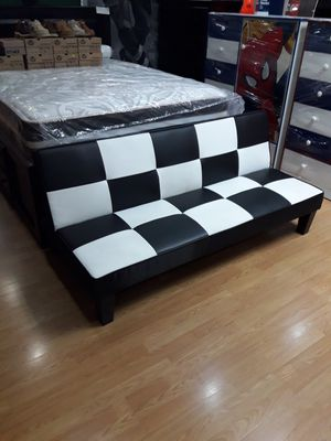 New futon bed leather for Sale in Los Angeles, CA
