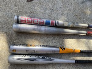 Aluminum baseball bat 25 inches to31 inches $10 each for Sale in Cerritos, CA