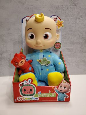 Cocomelon Musical Bedtime JJ Doll for Sale in Miramar, FL