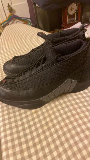 Retro air Jordan 15 (XV) black for Sale in Philadelphia, PA