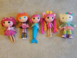 Lalaloopsy dolls and Hello Kitty Doll for Sale in Arlington, TX