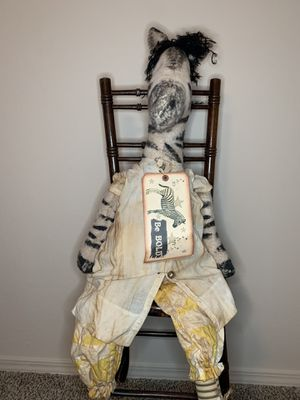 Handcrafted zebra for Sale in Amarillo, TX