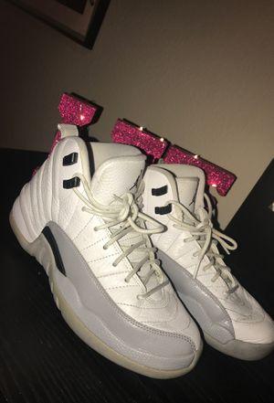 959992203860cf Nike Air Jordan 12 Retro GG Baron Barons Wolf Grey White Black Size 6.5  Youth