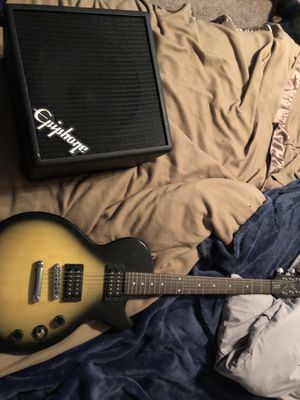 Epiphone electric guitar and amp for Sale in Norfolk, VA