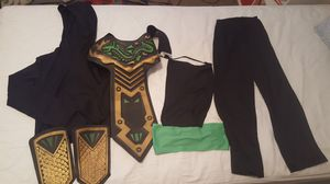 Ninja costume size 6-7 for Sale in Las Vegas, NV