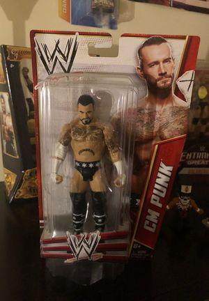 CM Punk Figure for Sale in Fairfax, VA