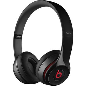 Beats by Dr. Dre - Solo 2 Wired On-Ear Headphones - Black for Sale in Altamonte Springs, FL