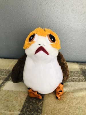 Disney Star Wars porg plush stuffed animal for Sale in Compton, CA