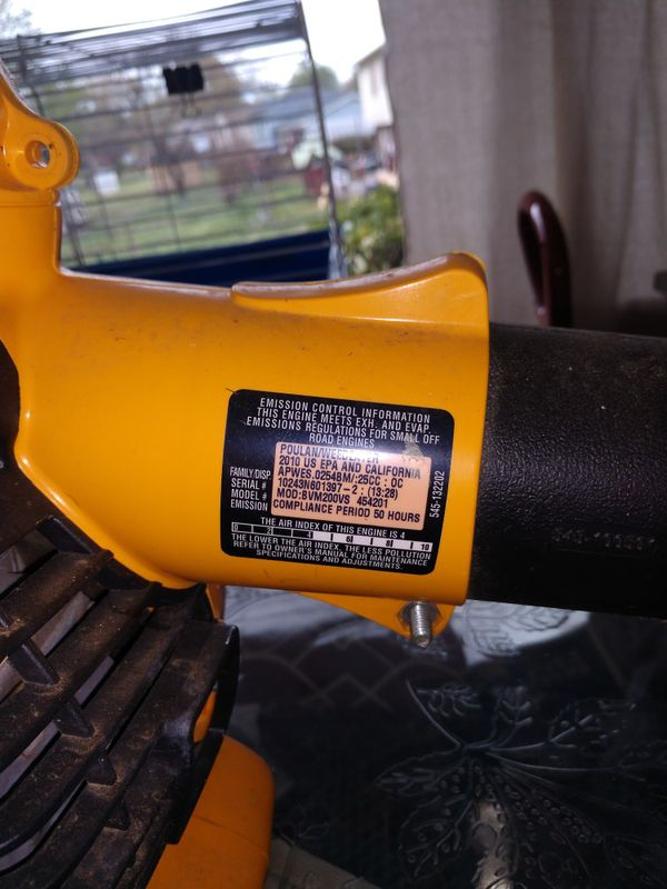Poulan Pro BVM200VS 25CC Gas Leaf Blower