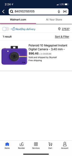 Polaroid instant digital camera for Sale in Henderson, NC