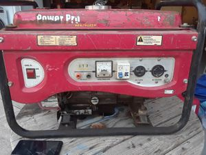 Honda power pro.. 6.5 horse. Output 120ac and also 240 ac for Sale in Bakersfield, CA