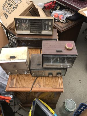 Old clock radios antiques for Sale in Ceres, CA