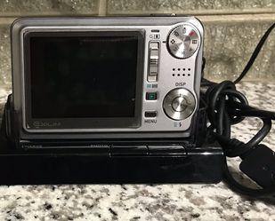 Silver Exilim 7.2 Mega Pixel Digital Camera w/ Charging Deck for Sale in Austin,  TX