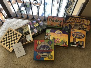 Variety of Family Games & Puzzles for Sale in Southlake, TX
