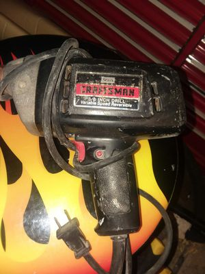 Craftsmans Drill for Sale in Springfield, MO