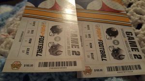 Steeler tickets for tonight's game these are $200 tickets best offer takes them for Sale in Bulger, PA