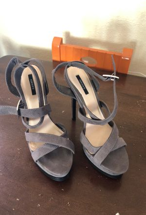 Gray heels for Sale in San Diego, CA