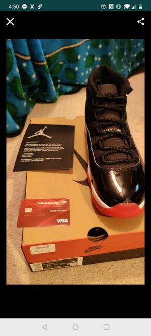 Air Jordan Retro Bred 11 Size 11 for Sale in Rosemead, CA