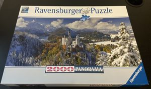 Ravensburger 2000 piece puzzle (Neuschwanstein Castle) for Sale in Windsor, CT