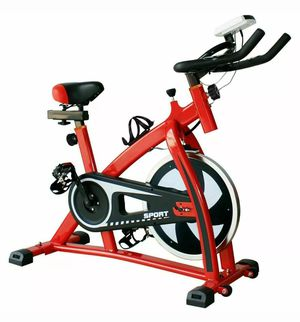 2019 New Red Spinning bike Cardio Workout for Sale in Jessup, MD