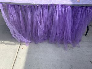 Table skirt for Sale in Ontario, CA