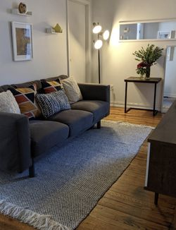 IKEA NORSBORG 3 Seat Sofa Couch for Sale in Durham,  NC