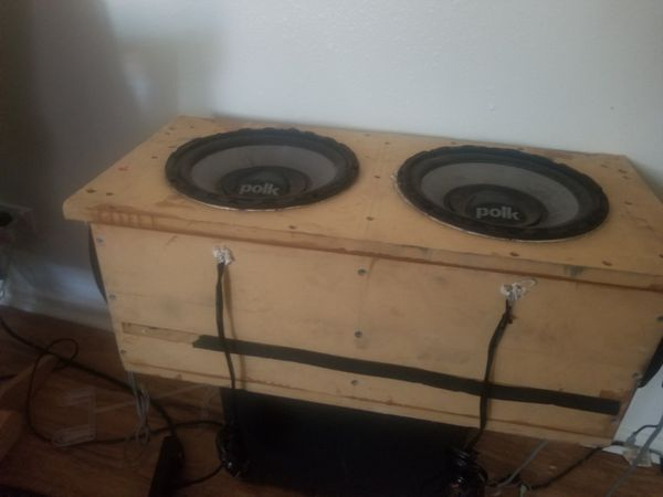 Subs Polk audio 10s