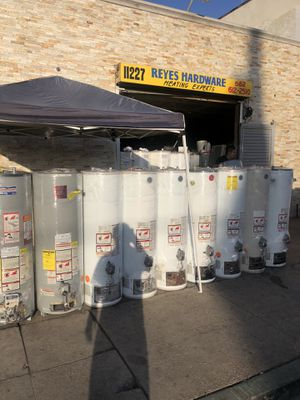 Water heaters abd wall heaters sales new and used for Sale in Los Angeles, CA
