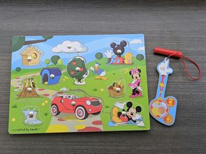 Melissa & Doug Disney Mickey Mouse Hide and Seek Wooden Magnetic Game for Sale in Vista, CA