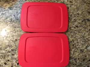Pyrex Easy Grab Loaf Pan Lid (2) for Sale in Austin, TX