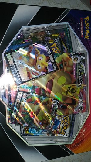 Nee Pokemon trading cards Meowth Vmax special collection for Sale in Clovis, CA