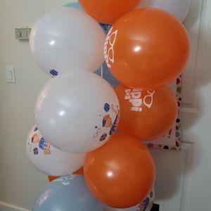 FREE blippi theme Balloons for Sale in Beaverton, OR