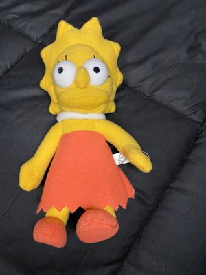 Lisa Simpson Plushie for Sale in Las Vegas, NV