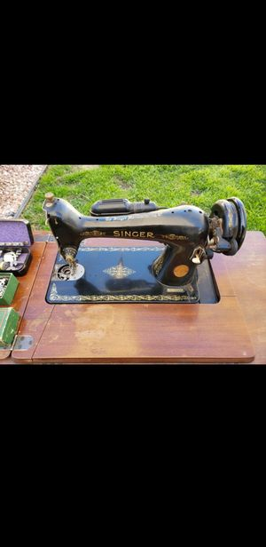 Singer sewing machine and work table Antique collectors item 1948 for Sale in Downey, CA